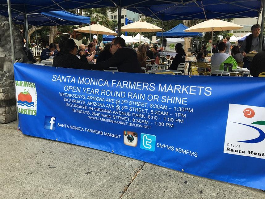 Santa Monica Farmers Market - Best things to do in Santa Monica