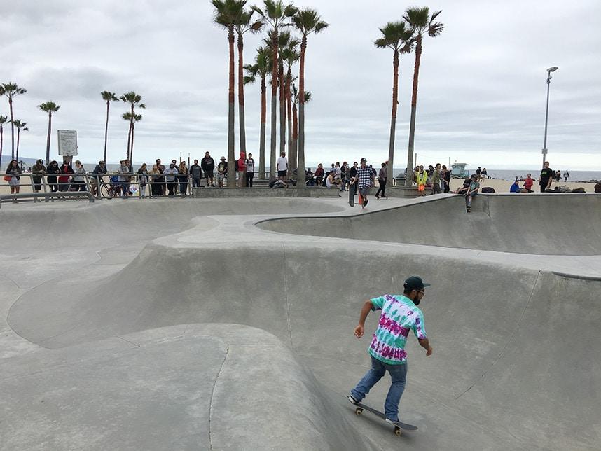 Santa Monica Skate Park