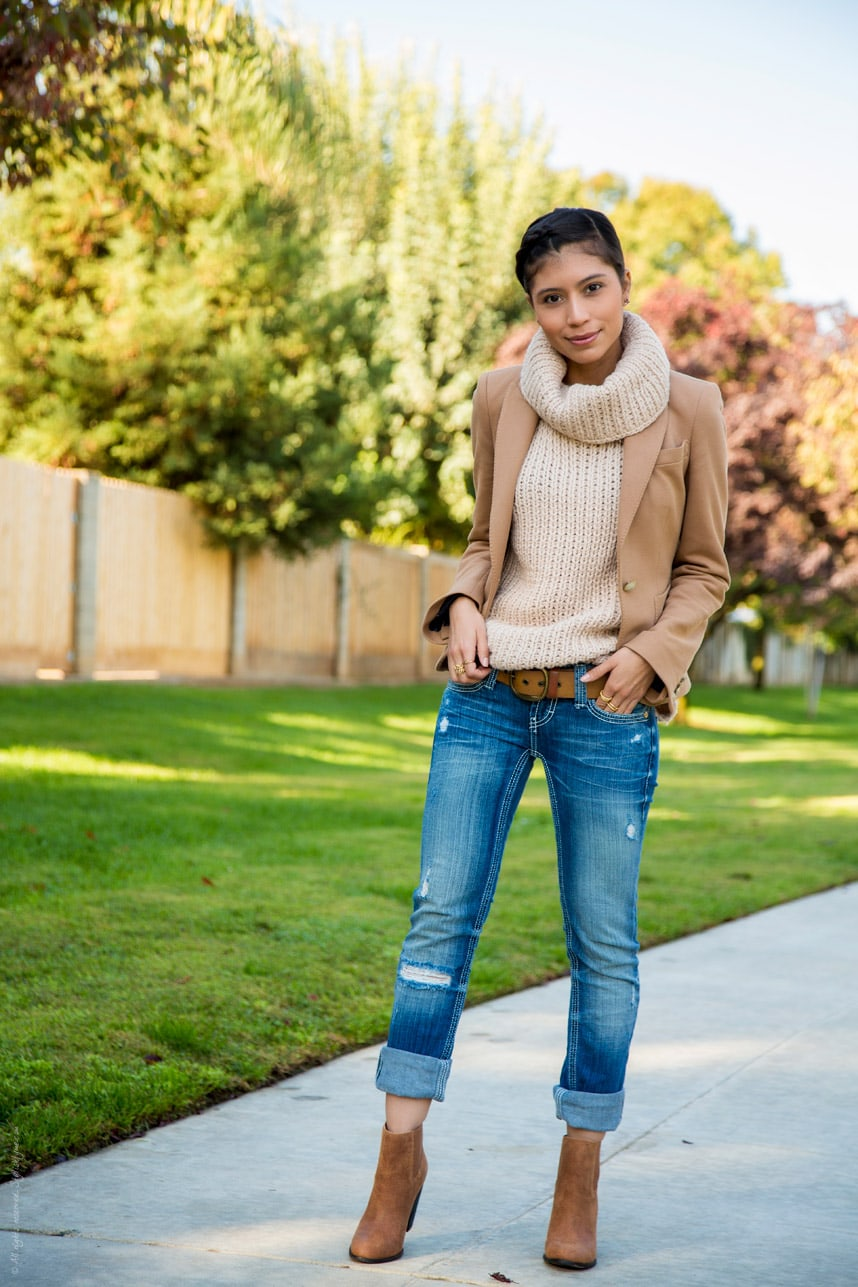 Cute Brown Fall Knitted Outfit - Stylishlyme