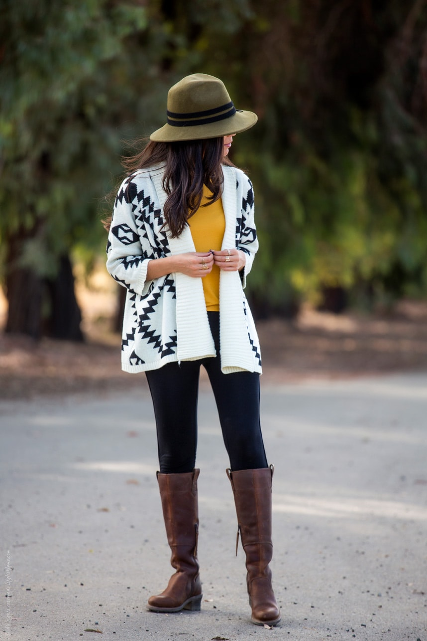 outfits with knee high boots - Love these outfit ideas and style tips on how to wear knee high boots