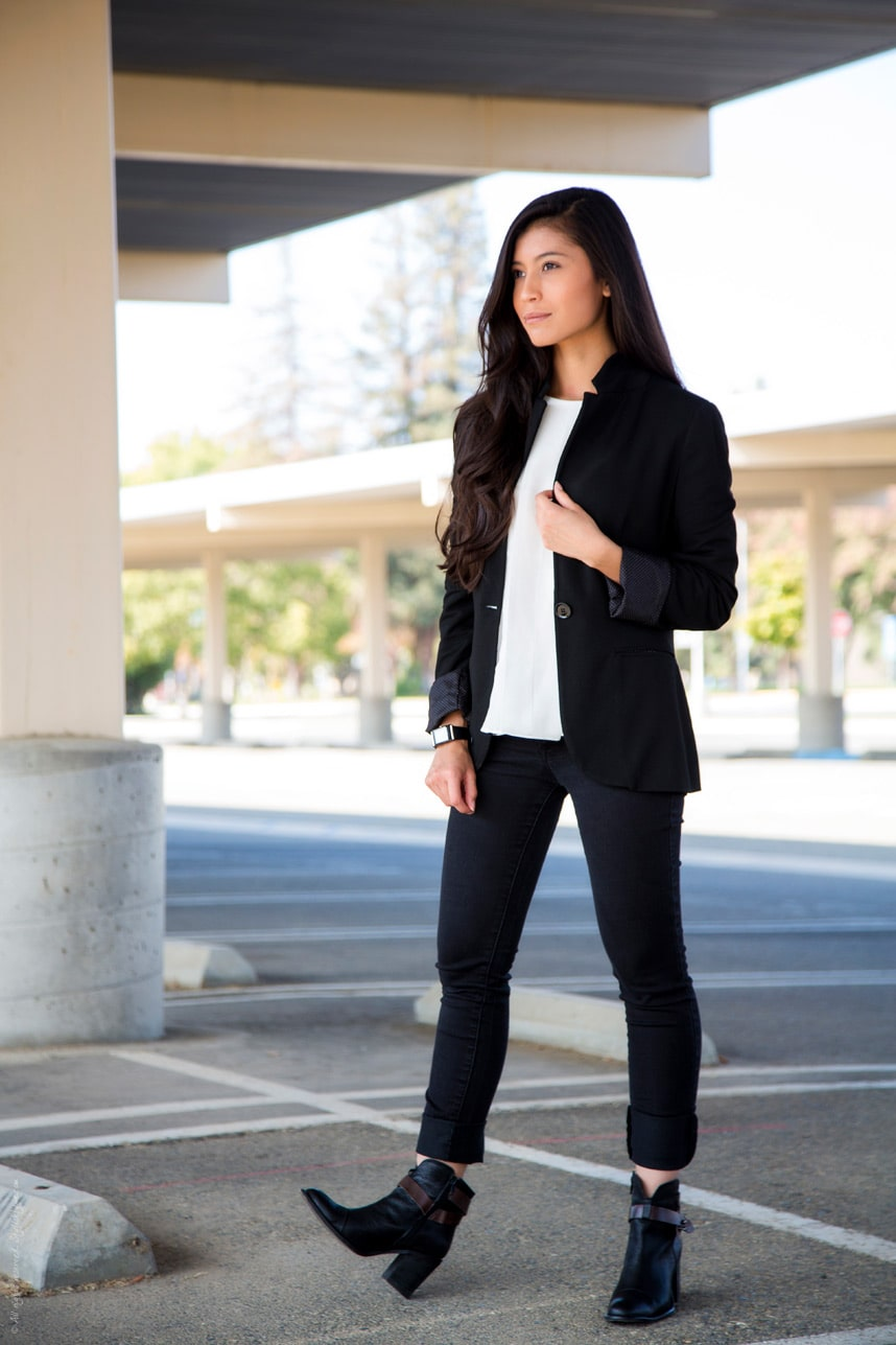 Menswear Inspired Outfit - Stylishlyme