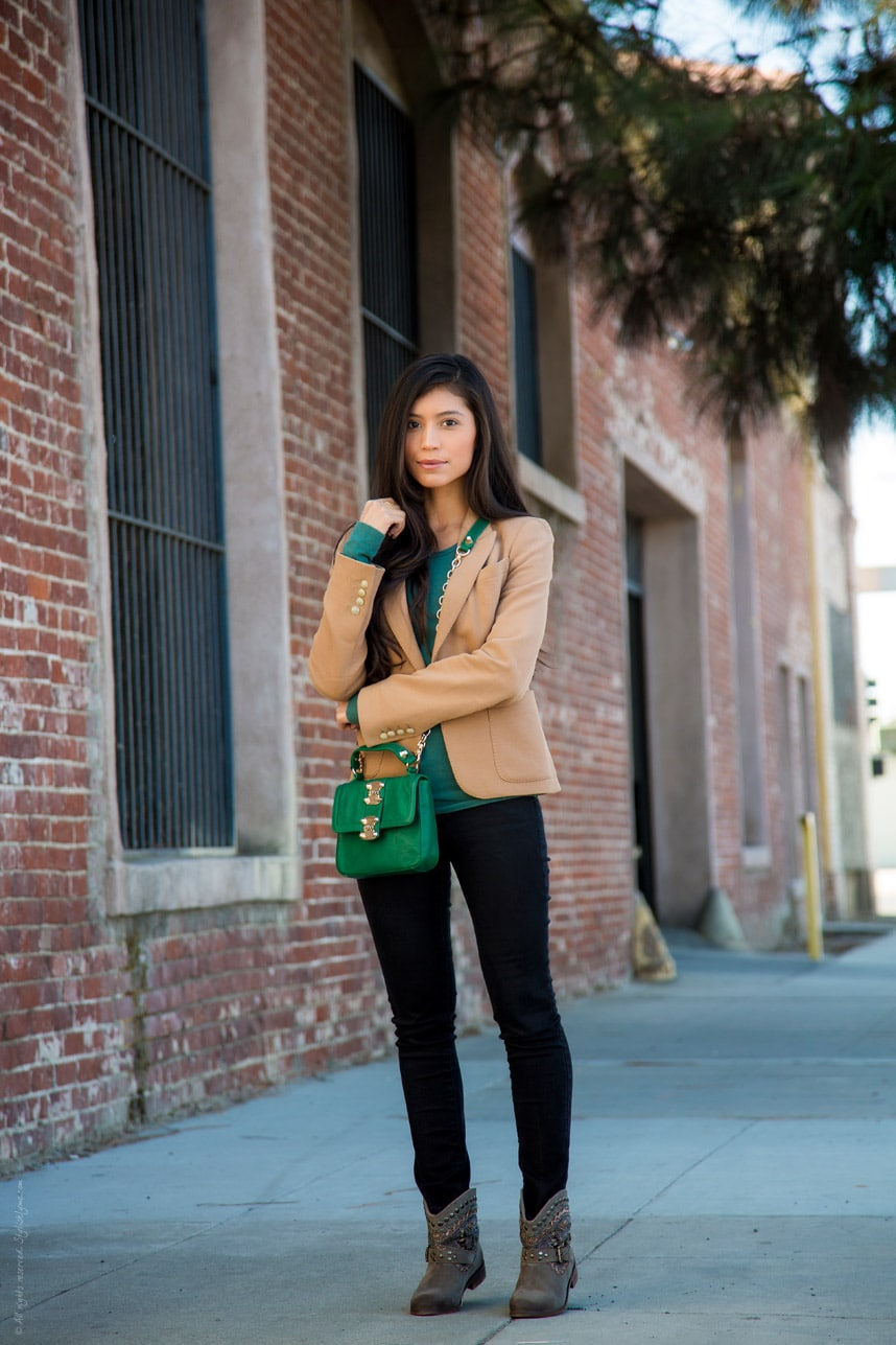Fall Booties Outfit - Stylishlyme